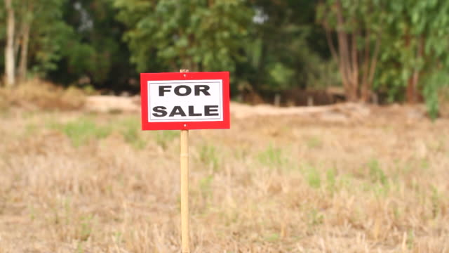 land for sale - selling stock videos & royalty-free footage