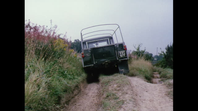 montage land rover and racing cars on dusty roads in australia - land rover stock videos & royalty-free footage