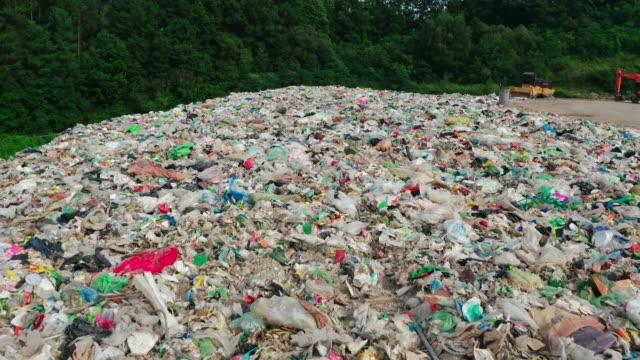 landfill site / yeongju-si, gyeongsangbuk-do, south korea - rubbish stock videos & royalty-free footage