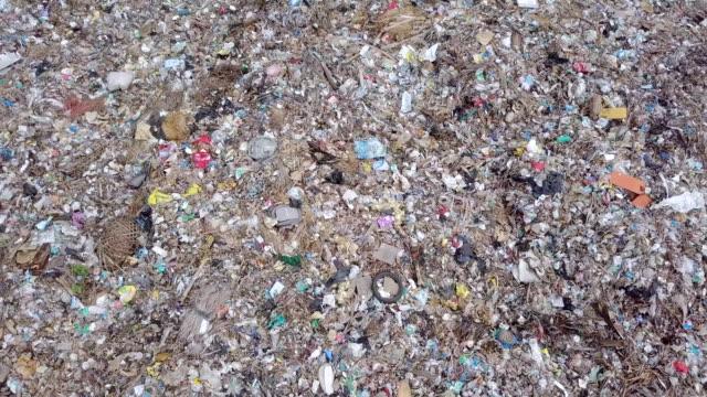 landfill suwung - trash hill serangang bali - island stock videos & royalty-free footage