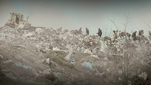landfill - rubbish dump stock videos & royalty-free footage