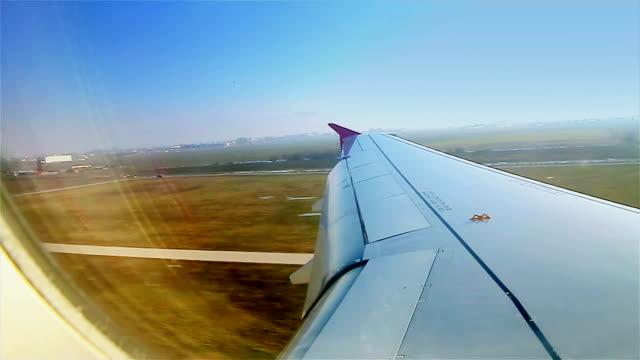 Landing van vliegtuigen, passagierszijde oogpunt
