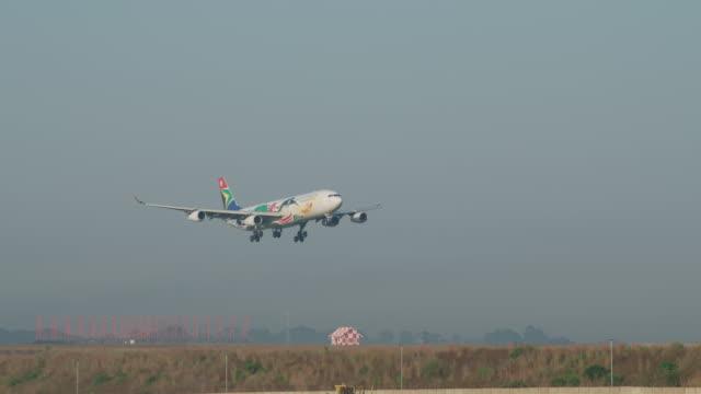 A340 landing