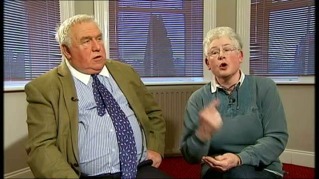 landlord fergus wilson evicts young mum despite paying her rent t07011406 / tx folkestone fergus wilson and judith wilson chatting with reporter... - paying rent stock videos & royalty-free footage