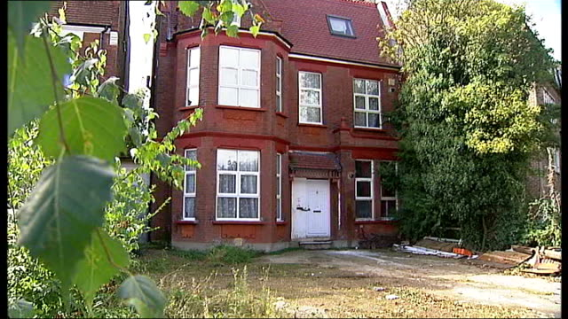 Landlord fined 15m pounds for building flats without planning consent ENGLAND London North LondonWillesden EXT General view of house PULL FOCUS...