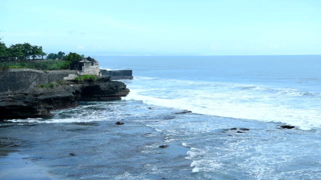 Wahrzeichen für Reisen in Asien von Tanah Lot Bali Indonesien