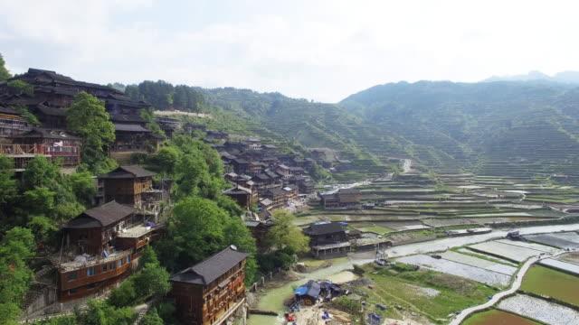 Landmark Qian hu miao-Dorf in xixiang, guizhou 4 K