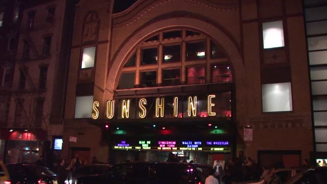 Landmark Sunshine Theater at the Magnolia Pictures and The Cinema Society Present Premiere of Two Lovers at New York NY