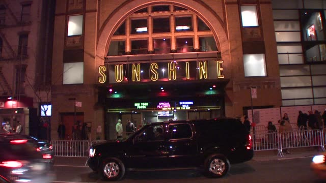 Landmark Sunshine Theater at the 'Milk' Premiere at New York NY