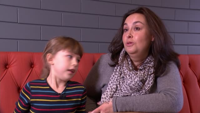 Landmark trial exposes sufferers of peanut allergies to controlled amounts of peanut protein UK London Sophie Pratt interview / Sophie Pratt and...