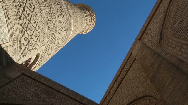 landmarks in bukhara - bukhara stock videos and b-roll footage