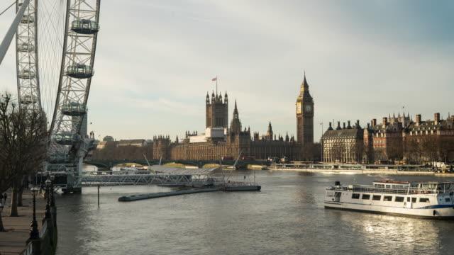 Landmarks of London, UK.