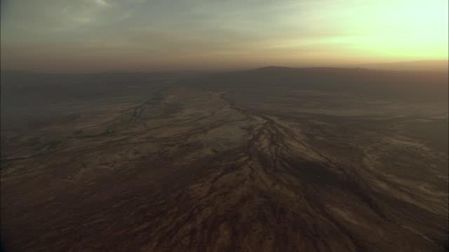 Landscape aerial shot (Kenya)