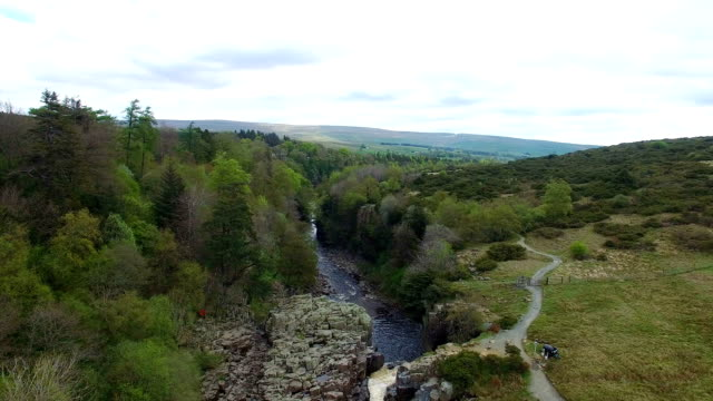 landscape and river - county durham england stock videos & royalty-free footage