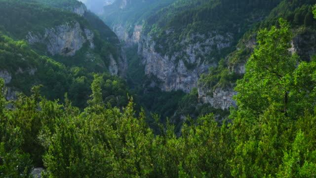 Landscape in Escuain gorge, Ordesa y Monte Perdido National Park, Sobrarbe, Huesca Province, Aragon, Spain, Europe