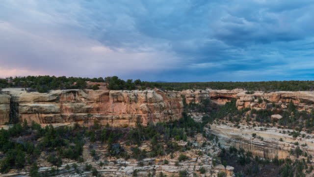 landscape in mesa verde national park - mesa verde nationalpark stock-videos und b-roll-filmmaterial