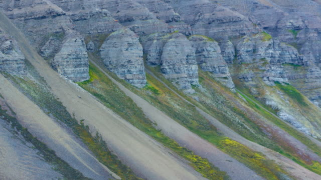 landscape in svalbard islands - svalbard and jan mayen stock videos & royalty-free footage