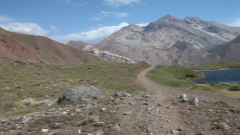 landscape in the andes mountain range in argentina - argentinian ethnicity stock videos & royalty-free footage