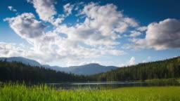 Landscape Lake Coulds Time Lapse