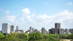 landscape of Fukuoka city