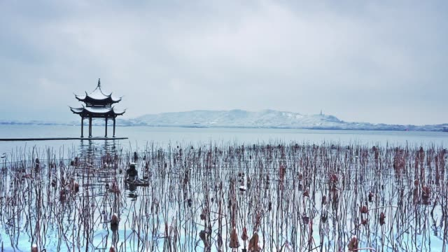 landscape of hangzhou - hangzhou stock videos & royalty-free footage