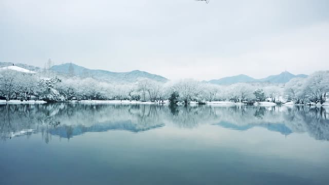 landscape of hangzhou - pavilion stock videos & royalty-free footage