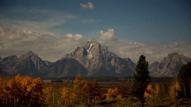 landscape of jackson hole - rocky mountains north america stock videos & royalty-free footage