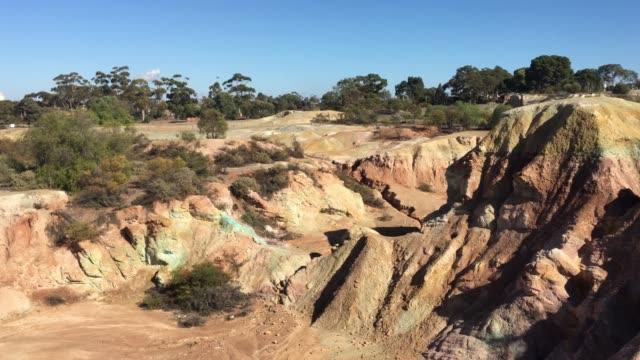 Landscape of Kapunda Copper Mine in South Australia.