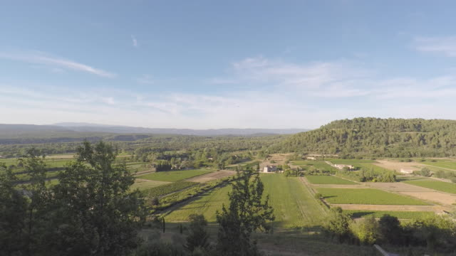 landscape of provence - luberon stock videos & royalty-free footage