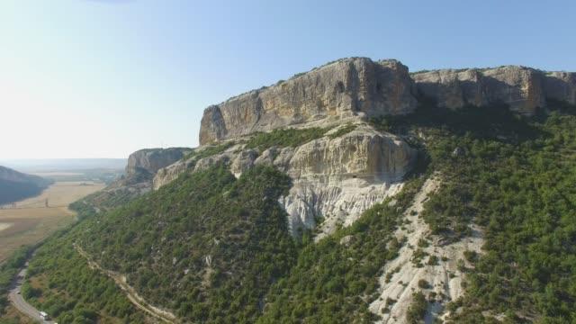 険しい山の航空写真: 風景 - クワッドコプター点の映像素材/bロール