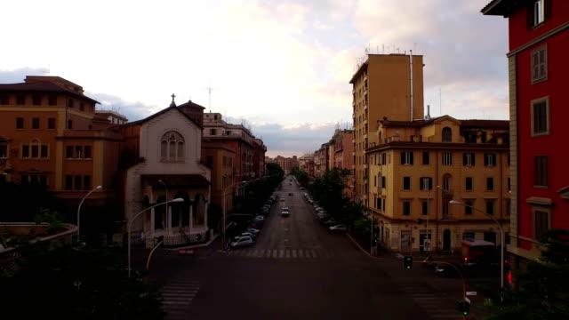 landscape of san giovanni area - strada video stock e b–roll