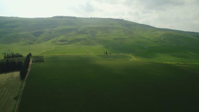vidéos et rushes de landscape of the lower galilee - valley