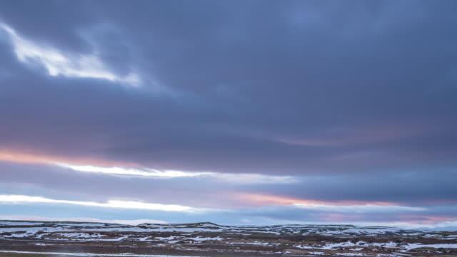 アイスランドの風景を見る - 北点の映像素材/bロール