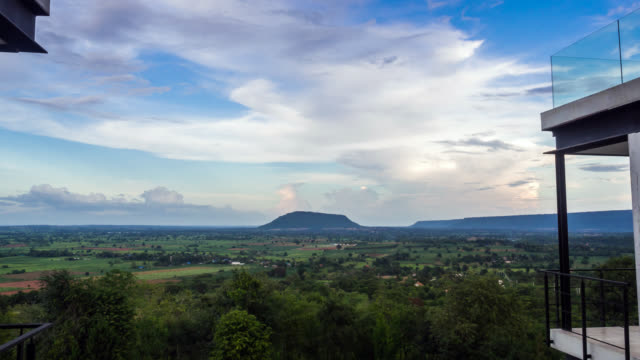 Landscape view of Khao yai national park