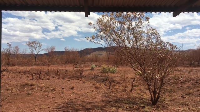 landscape view of the pilbara western australia - latitude stock videos & royalty-free footage