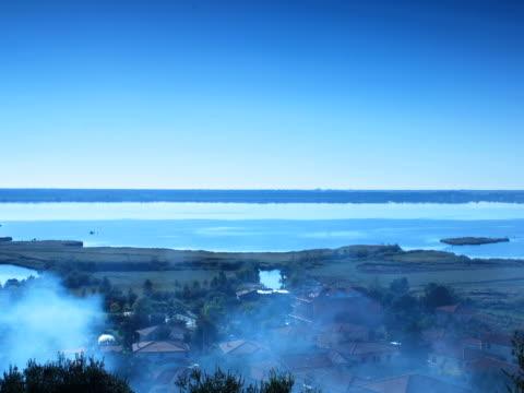 景観、雲の動きに pp - 撮影機材点の映像素材/bロール