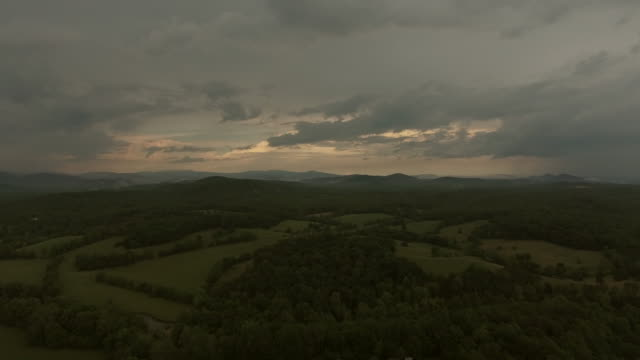 landscape with mountains - tennessee stock videos & royalty-free footage