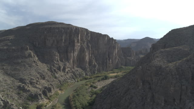 landscape with river in big bend national park - north america stock videos & royalty-free footage