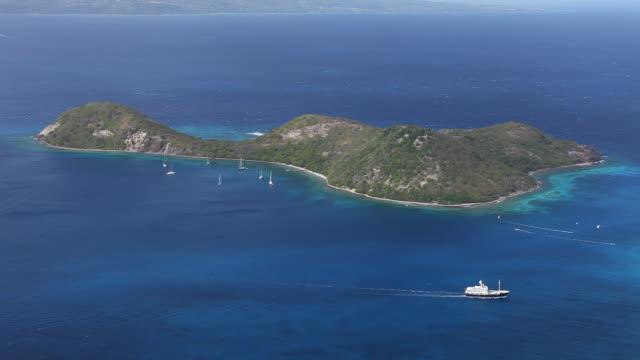 vidéos et rushes de landscapes of saint islands, guadaloupe - guadeloupe