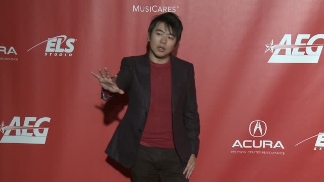 Lang Lang at MusiCares Person of the Year Honoring Tom Petty in Los Angeles CA
