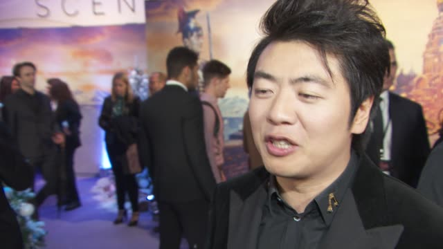interview lang lang on the score in the nutcracker and protecting his hands at the nutcracker and the four realms gala screening on november 1 2018... - the nutcracker named work stock videos & royalty-free footage