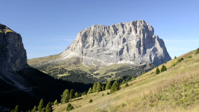 langkofel mountain - langkofel stock videos & royalty-free footage
