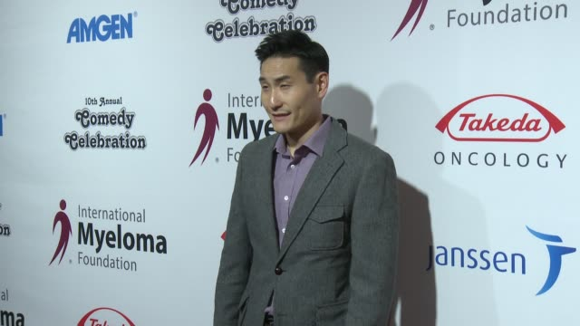 lanny joon at international myeloma foundation's 10th annual comedy celebration benefiting the peter boyle research fund & supporting the black swan... - peter boyle stock videos & royalty-free footage