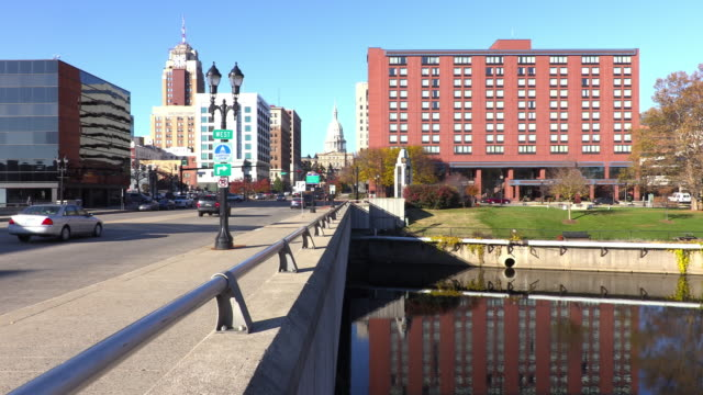 lansing, michigan - michigan stock videos & royalty-free footage