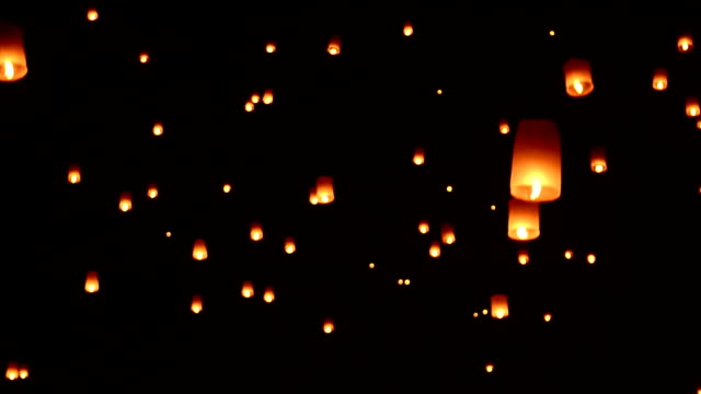 Lantern Lift Off To The Sky