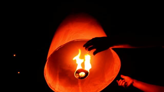 lantern traditional festival - paper lantern stock videos & royalty-free footage