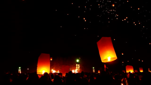 lantern traditional festival - red stock videos & royalty-free footage