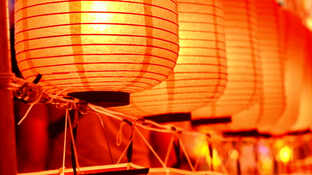 lantern - paper lantern stock videos and b-roll footage