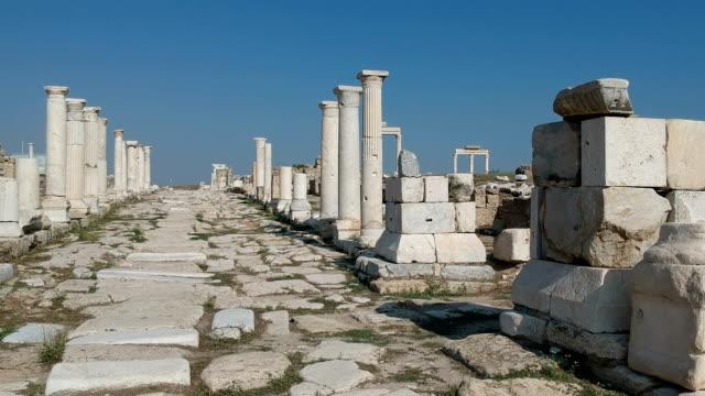 laodikeia, denizli, turkiet - grekisk kultur bildbanksvideor och videomaterial från bakom kulisserna