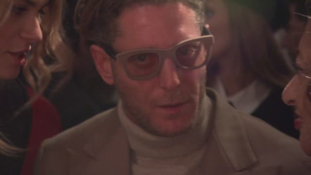 lapo elkann and isabelle gmurzynska at royal academy of arts on february 16 2012 in london england - royal academy of arts stock videos & royalty-free footage